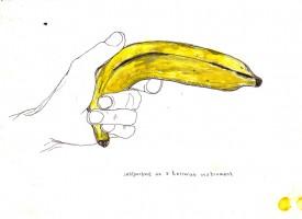 selfportrait terrorist banana